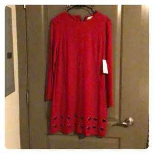 Just Fab Red Dress